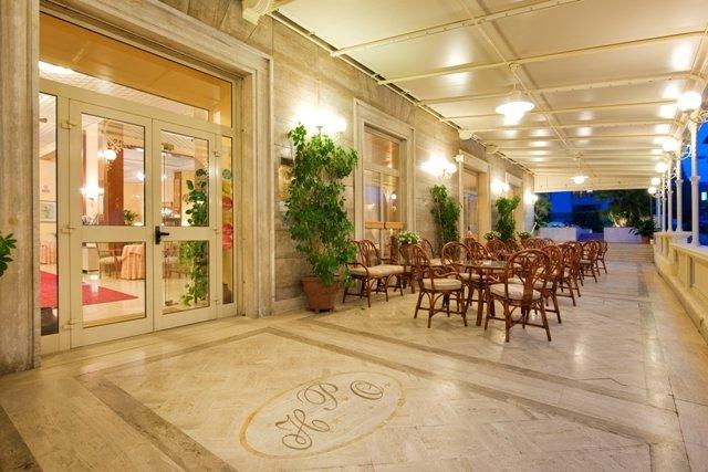 Hotel Parma e Oriente - Ingresso struttura