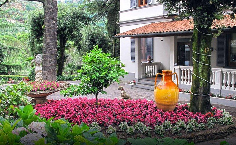 Hotel Villa Maria - Spazi esterni